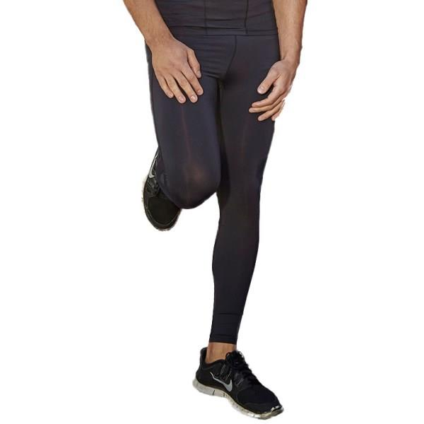 Bayse Compression Mens Training Pants - Black