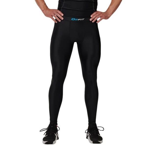 o2fit Mens Compression Pants - Black