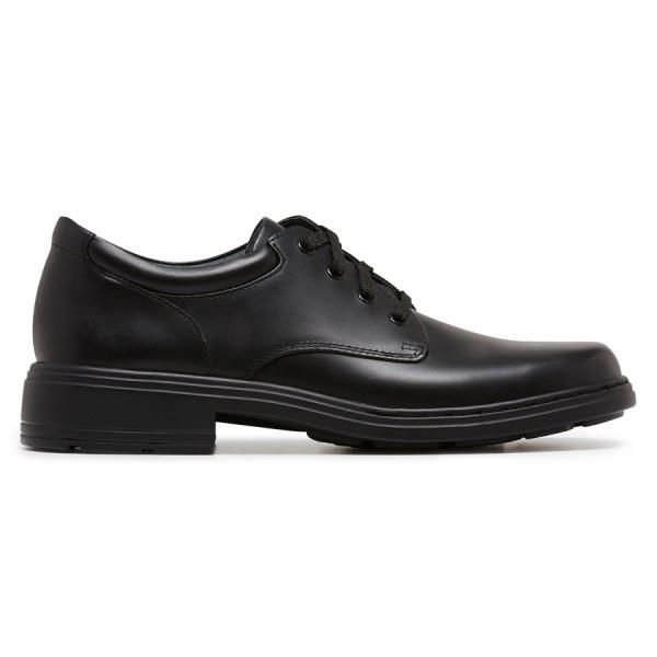 Clarks Infinity Junior Girls School Shoes - Black
