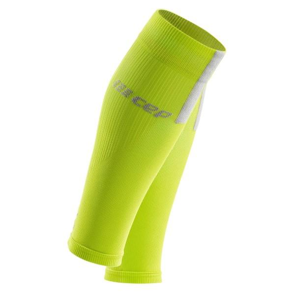 CEP Compression Calf Sleeves 3.0 - Lime/Grey
