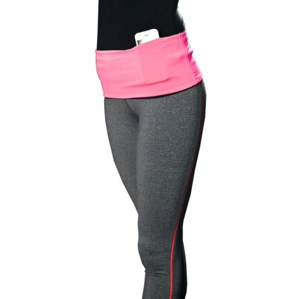 HipS-sister Fashion Sister Reversible Hip Pack - Pink/Black