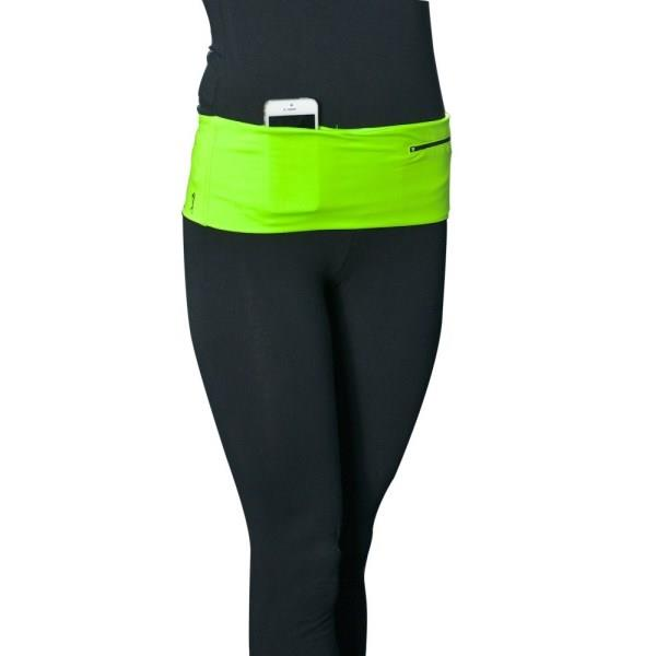 HipS-sister Fashion Sister Reversible Hip Pack - Lime/Carbon
