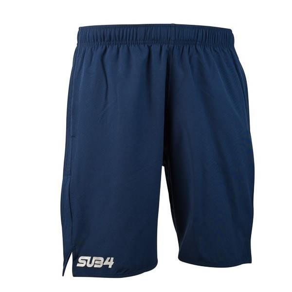 SUB4 7 Inch Action Mens Training Shorts - Navy