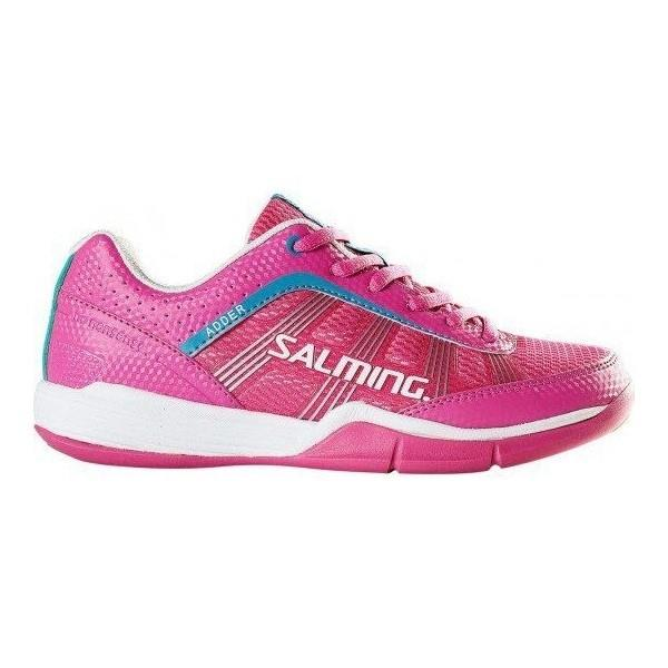 Salming Adder Womens Court Shoes - Pink/White