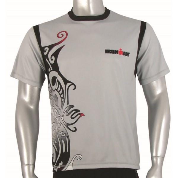 Ironman Cool Max Unisex Running Shirt - Silver/Black