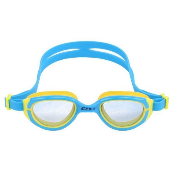 Zone3 Aqua Hero Kids Swimming Goggles - Blue/Yellow