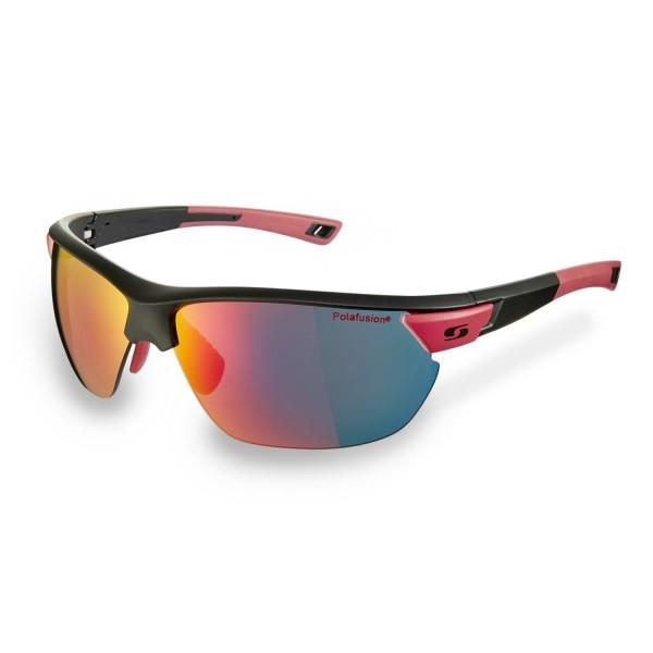Sunwise Blenheim Polarised Water Repellent Sports Sunglasses - Black/Red
