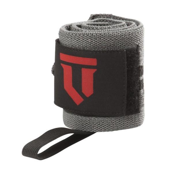 Lift Tech Comp Thumb Loop Wrist Wrap - Grey