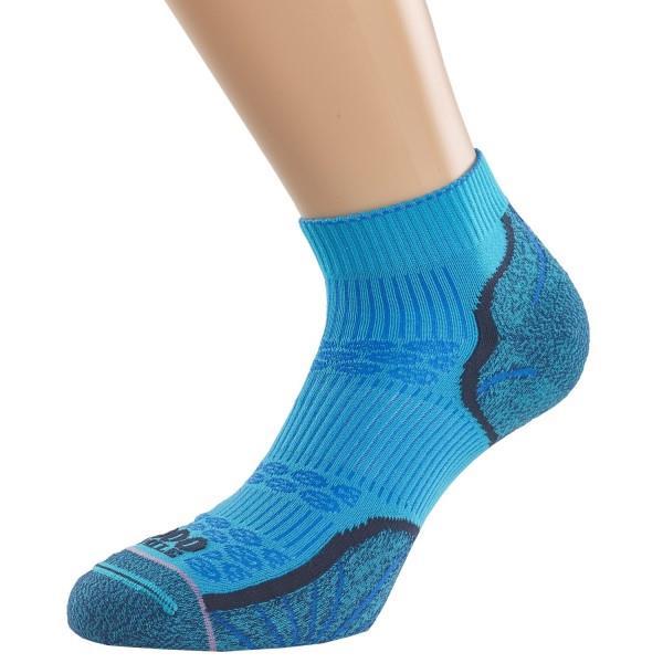 1000 Mile Breeze Lite Anklet Womens Sports Socks - Marine Blue