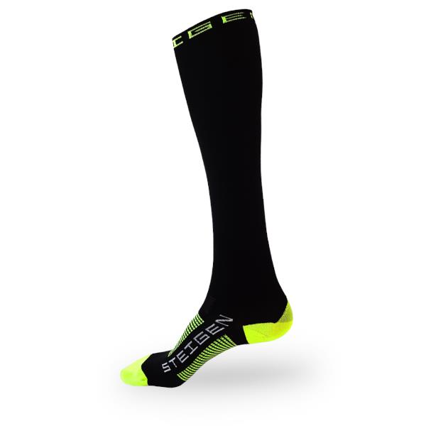 Steigen Full Length Running Socks - Black