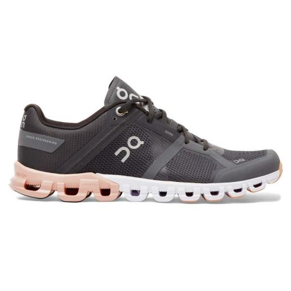 On Cloudflow - Womens Running Shoes - Rock/Rose
