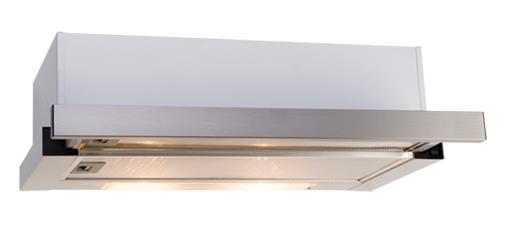 Image of Euro Appliances 60cm Slide Out Rangehood - ES602SS **Ex-Display**
