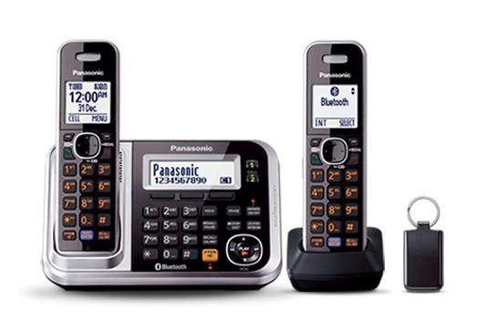 Image of Panasonic DECT Digital Cordless Phone Twin Pack KX-TG7892AZS