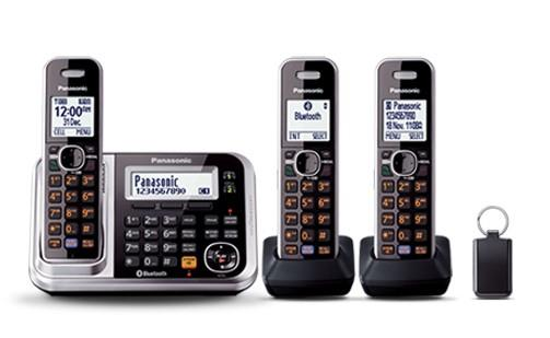 Image of Panasonic DECT Digital Cordless Phone Triple Pack KX-TG7893AZS
