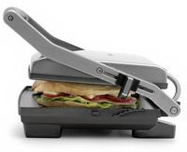Image of Breville Toast and Melt 4 Slice Sandwich Press - BSG540BSS