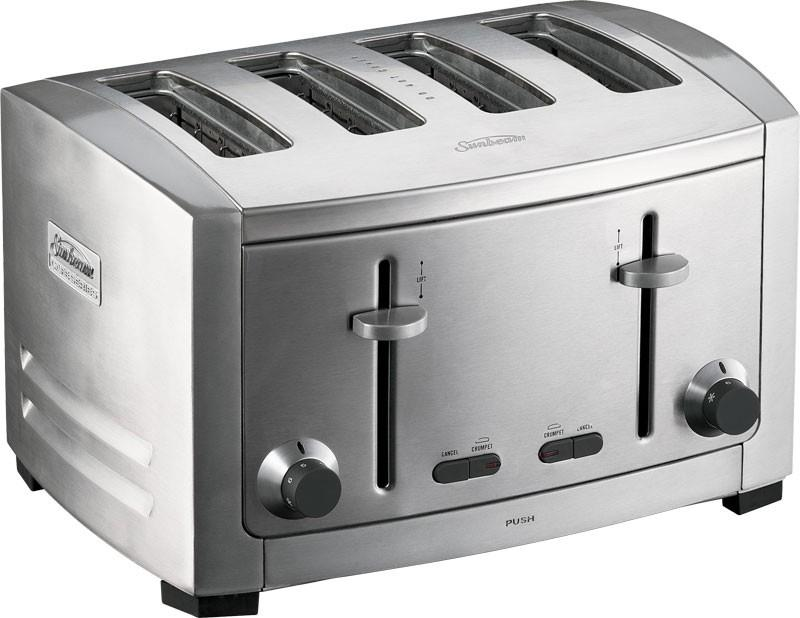 Image of Sunbeam Cafe Series - 4 slice toaster - TA9400