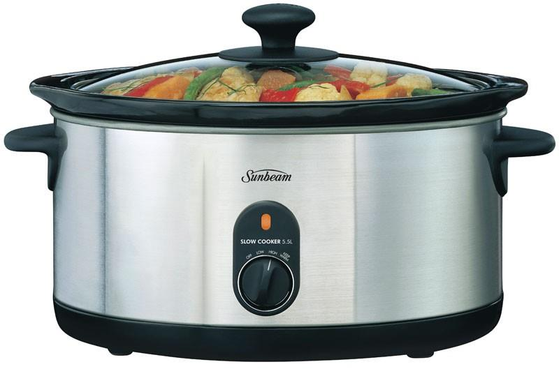 Image of Sunbeam Slow Cooker 5.5L HP5520 *Win Prizes
