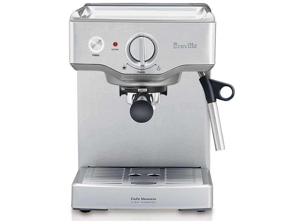 Image of Breville Cafe Venezia Espresso Machine BES250BSS
