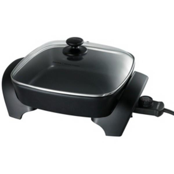 "Image of Kambrook Essentials 12"" Square Frypan KEF125BLK"