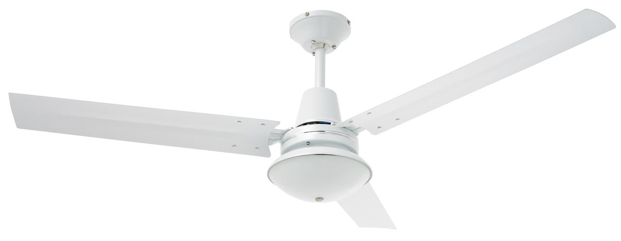 Image of Heller Ceiling Fan with Oyster Light JAZZ