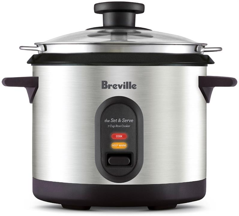 Image of Breville the Set & Serve BRC310BSS *Clearance*