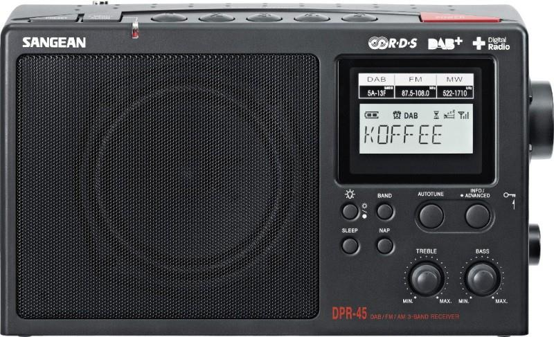 Image of Sangean AM/DAB+/FM-RDS Digital Radio DPR45