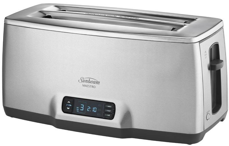 Image of Sunbeam Maestro 4 Slice Toaster TA6440