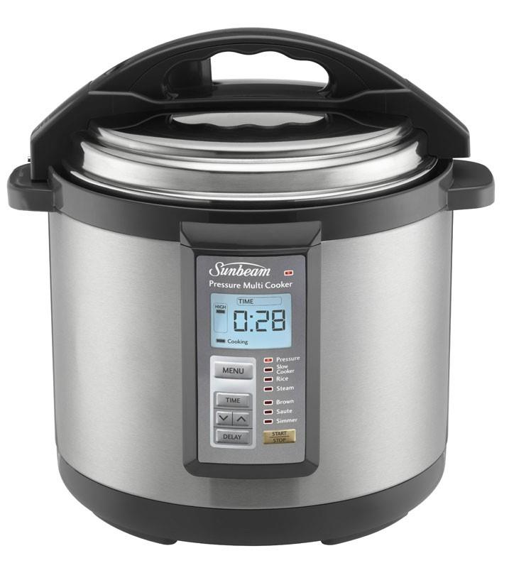 Image of Sunbeam Aviva 6L Electronic Multi Cooker - PE6100