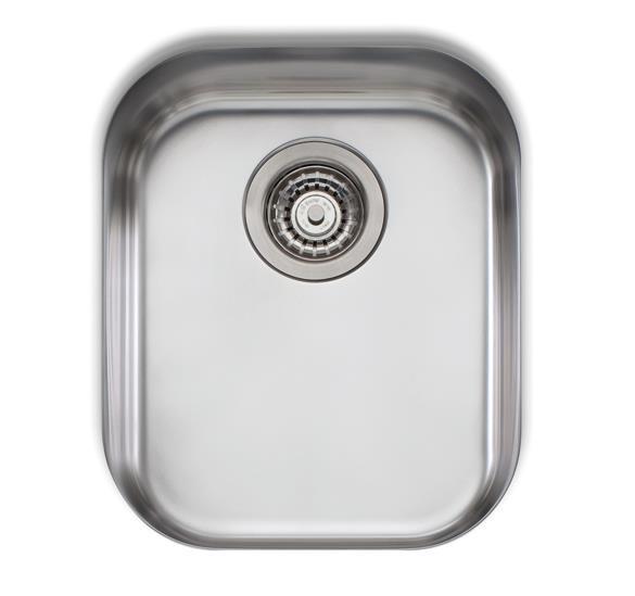 Image of Oliveri Diaz single bowl undermount sink - DZ150U