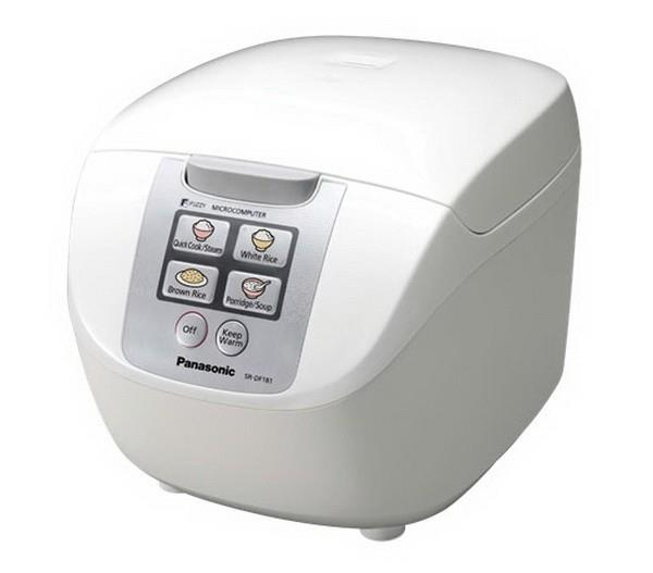 Panasonic Rice Cooker - SRDF181WST
