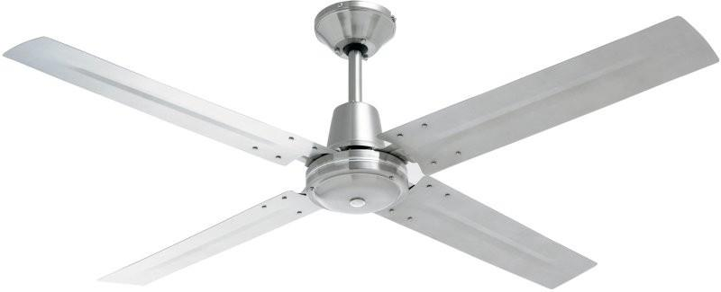 Heller Brushed Stainless Steel Ceiling Fan - TYLER