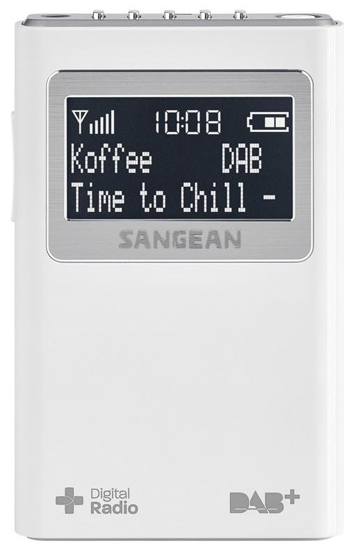 Image of Sangean DAB+/FM Pocket Radio DPR-39WH