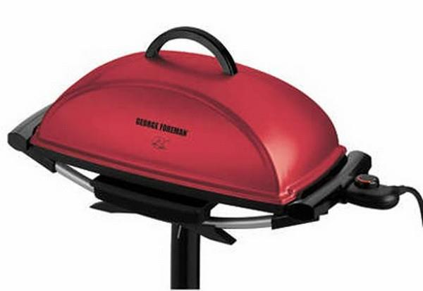 George Foreman Indoor / Outdoor BBQ Grill - GGR201RAU