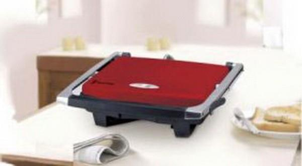Image of Russell Hobbs Red Sandwich Press - RHSP801RED