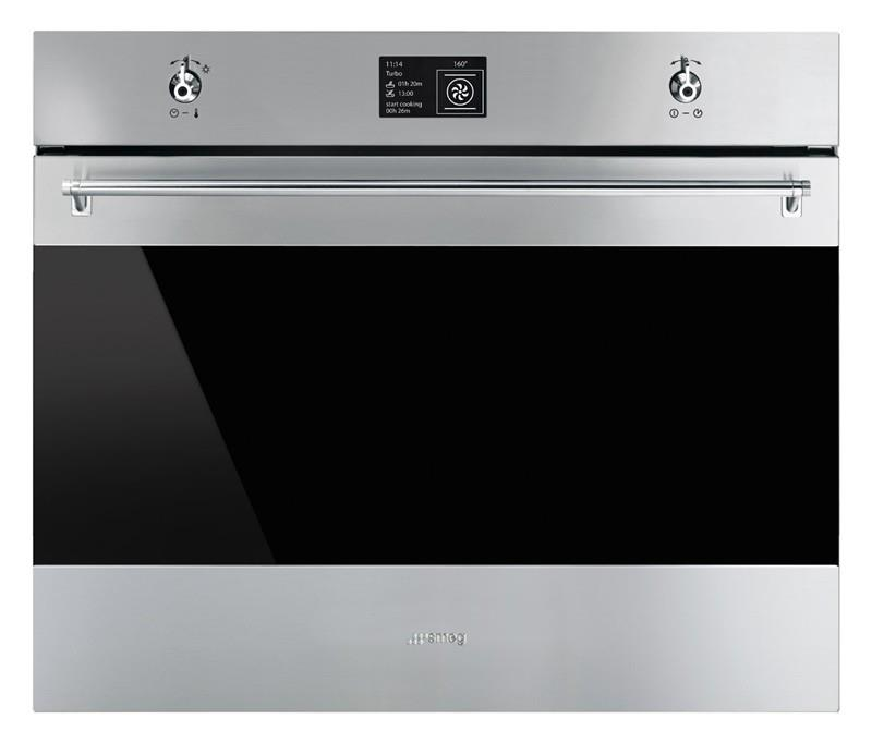 Smeg 70cm Classic Thermoseal Pyrolytic Oven - SFPA7395X