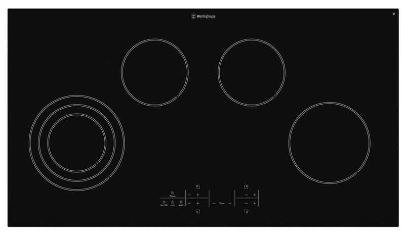 Image of Westinghouse 90cm Ceramic Cooktop WHC944BA