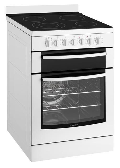 Image of Westinghouse 60cm Freestanding Electric Cooker - WFE647WA