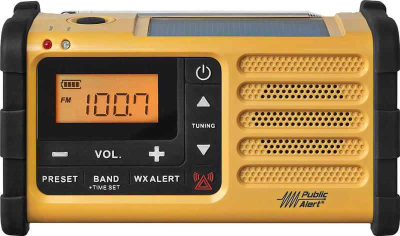 Sangean Solar Emergency Alert Radio - MMR-88