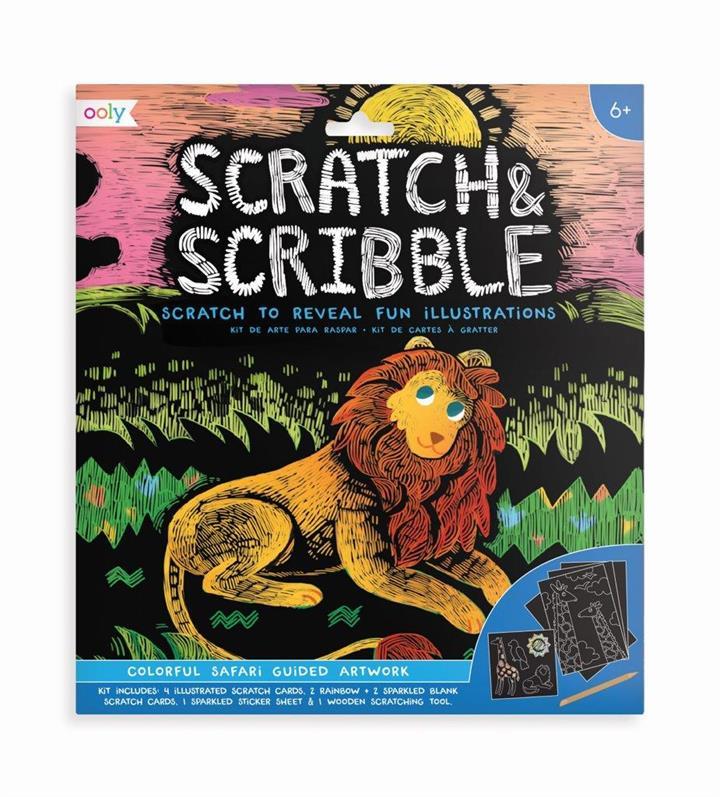 Scratch & Scribble Safari