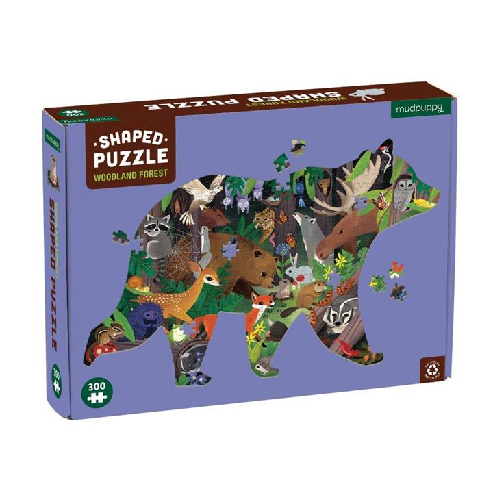 Woodlands Forest Shape Puzzle 300pc