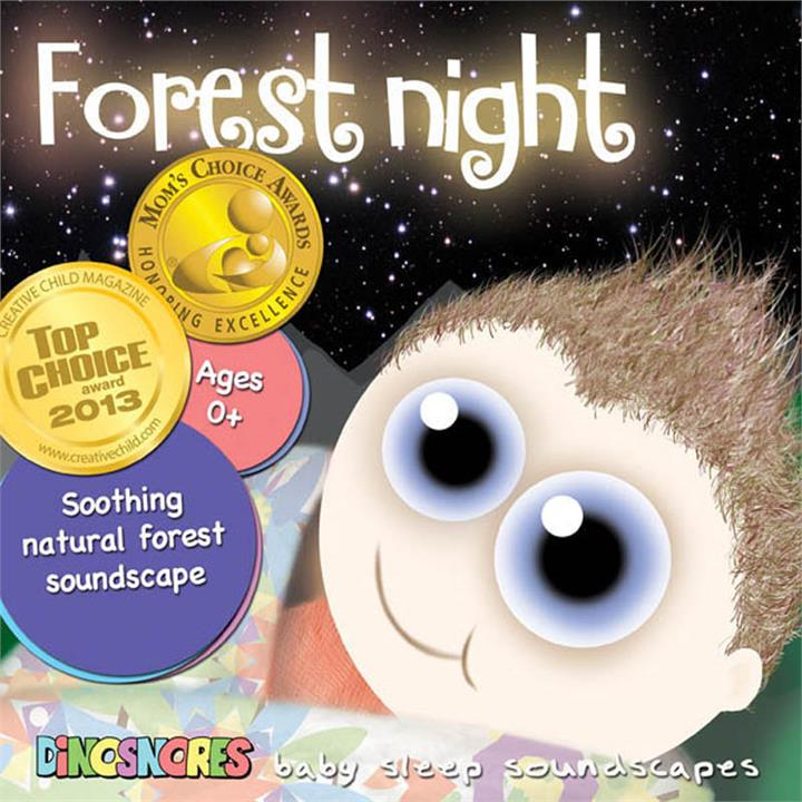 Dinosnores Forest Night Sleepy Soundscapes CD