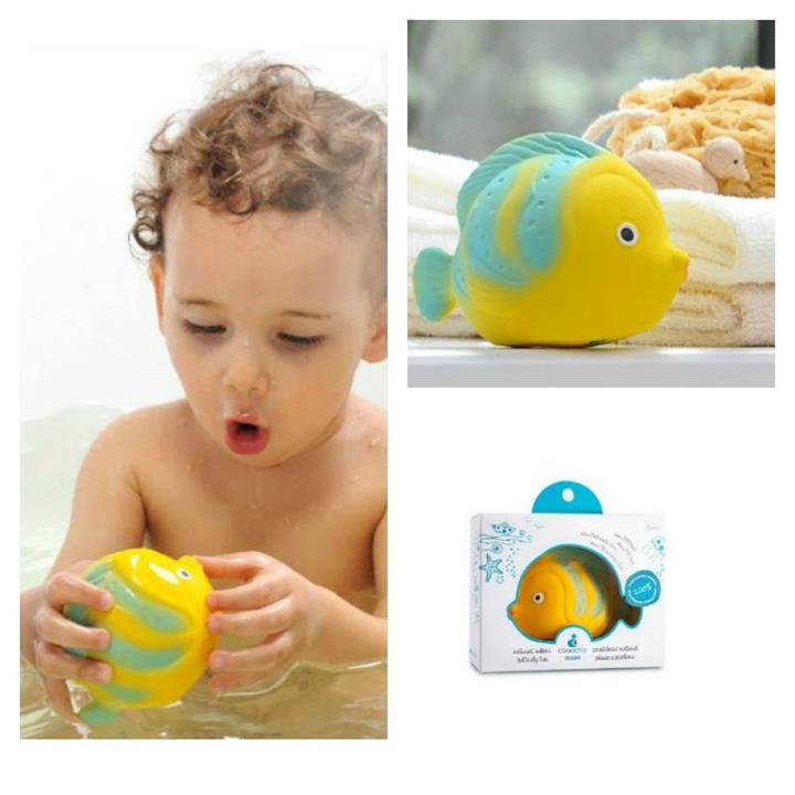 CaaOcho La the Butterfly Fish Bath Toy