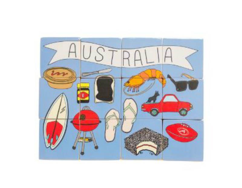 Make Me Iconic Australia Stacking Blocks