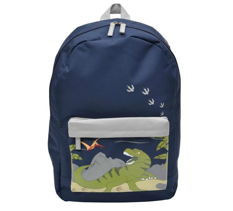 Bobble Art Large Coated Dinosaur Backpack