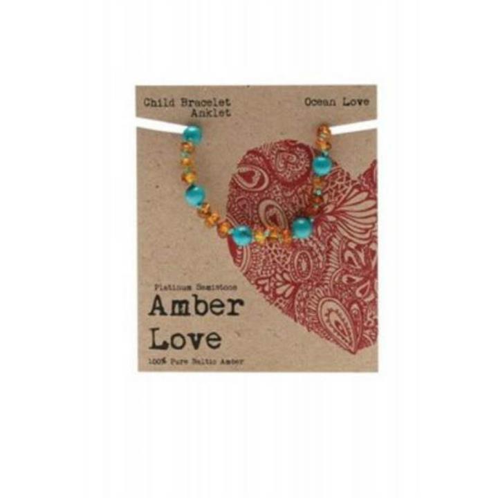 Amber Love Child Bracelet Ocean Love