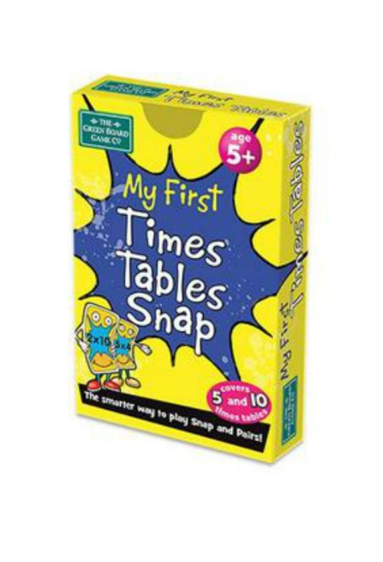 My 1st Times Tables Snap Cards