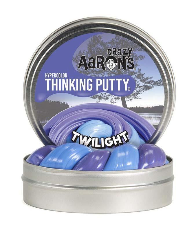 Crazy Aarons Hypercolor Thinking Putty Twilight