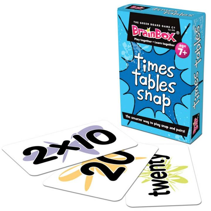 Times Tables Snap Cards