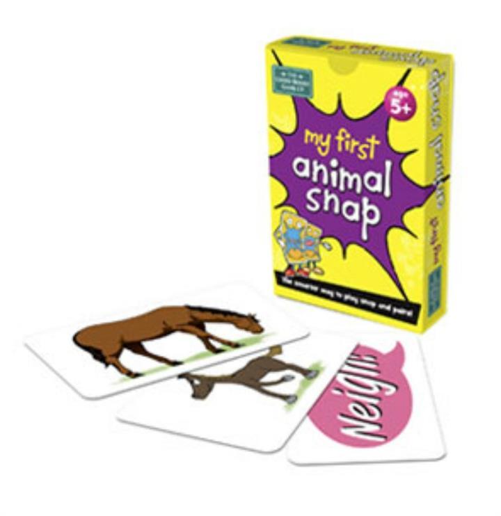 My 1st Animal Snap Cards