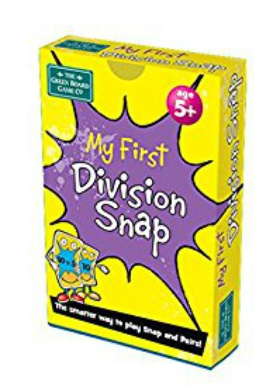 My 1st Division Snap Cards